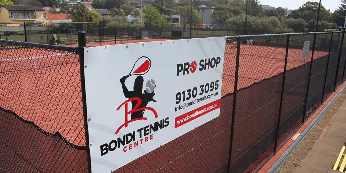 Bondi Tennis Centre Beginnings