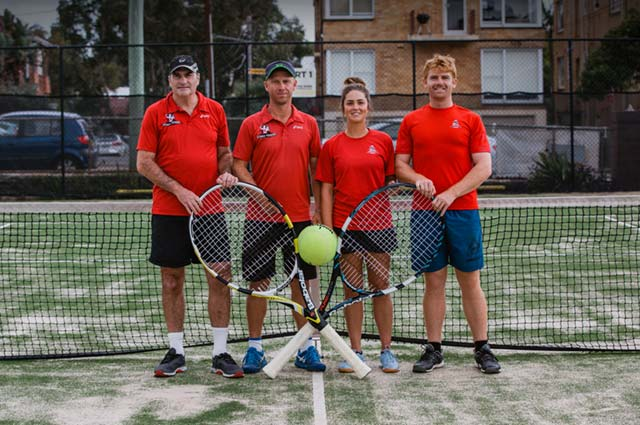 Bondi Tennis Coaching Sta