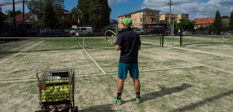 Book a tennis court in Bondi